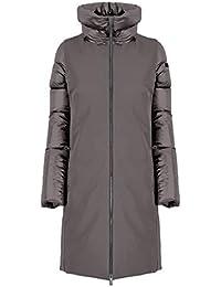 rrd collezione inverno 2017 donna piumino cappotto bianco con cappuccio