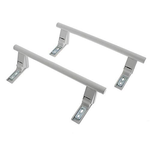 Find A Ersatz-Türgriff für Liebherr CN3866-20A CN3866-20B Kühlschrank Gefrierschrank, Weiß, 2 Stück Ein Stück Handle