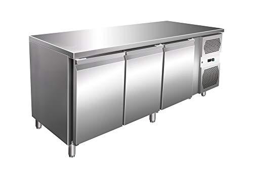Arbeitstisch Türen (Kühltisch mit 3 Türen Arbeitstisch Kühlschrank Vorbereitungstisch Pizzatisch)