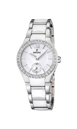 Festina-Womens-Quartz-Watch-with-White-Dial-Analogue-Display-and-White-Stainless-Steel-Bracelet-F166371