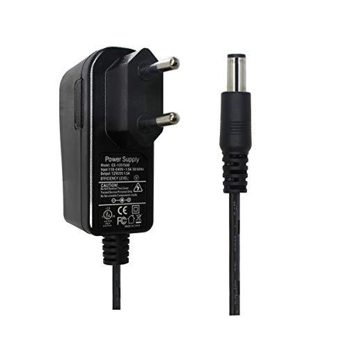 AC zu DC 12V 1,5A Netzteil Adapter, Stecker 5,5mm x 2,1mm für CCTV-Kamera DVR LED String Licht Cctv Dvr Kamera