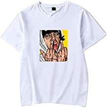 Lil Xan Xanarchy Camisetas Hombre T Shirt Sport Manga Corta Camisa Polo Unisex Basicas tee Tops