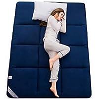Wanrane - Felpudo Acolchado para futón, colchón, Alfombrilla para Dormir, Alfombrilla para Tatami