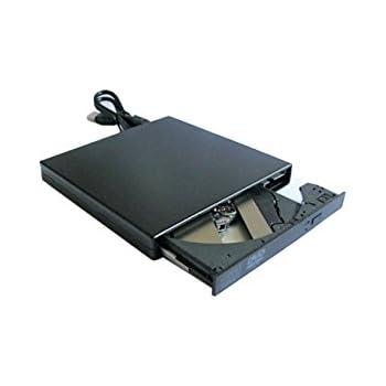 Lecteur DVD - Graveur CD Universel USB 2.0 Externe Noir Neuf CD-R CD-RW DVD-ROM (Lecteur DVD - Graveur CD)