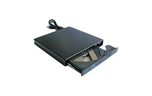 Compaq Dvd-brenner (DVD Laufwerk CD Brenner Combo Laufwerk USB extern Slim, Schwarz für notebook)