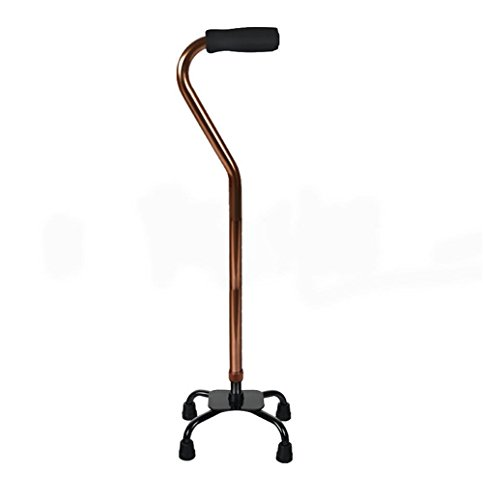 D&F Einstellbare Quad Cane Walking Stick für Männer und - Quad Faltbare Cane