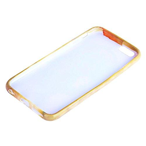 Phone case & Hülle Für iPhone 6 / 6S, glatte Oberfläche bunte Eule Muster TPU Fall ( SKU : S-IP6G-0118H ) S-IP6G-0118H