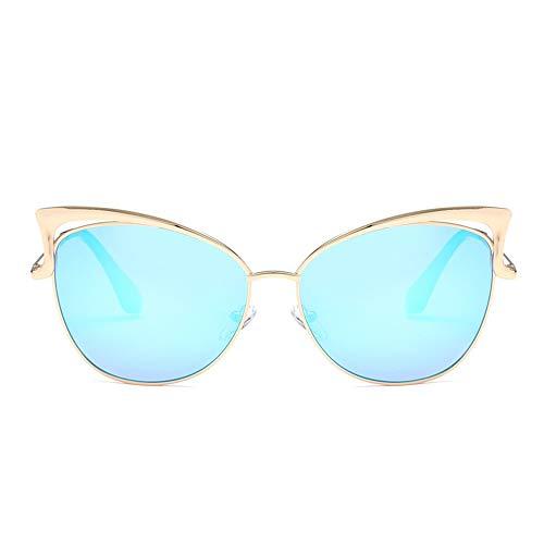 Wang-RX Männer und Frauen Sonnenbrillen europäischen und amerikanischen Mode Persönlichkeiten Uv400 12colors