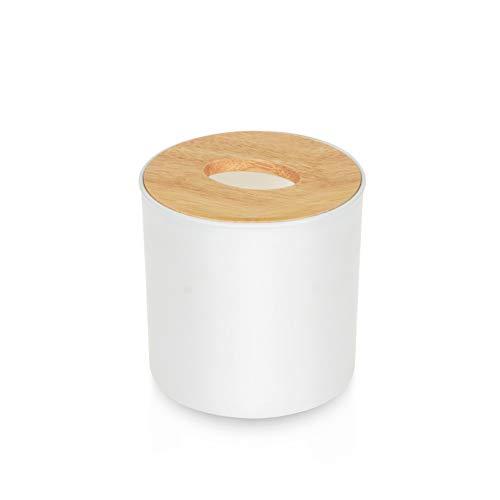 ZHONGLI Rollenpapier Holz Gewebe Box Home Badezimmer Auto -Gewebe Box Abnehmbarer Gewebe Behälter Handtuch Serviette Log Tissue Holder Startseite (Log-servietten)