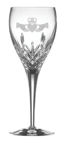 Galway Crystal irischen Claddagh Goblet Geschenk-Set Crystal Goblet Set