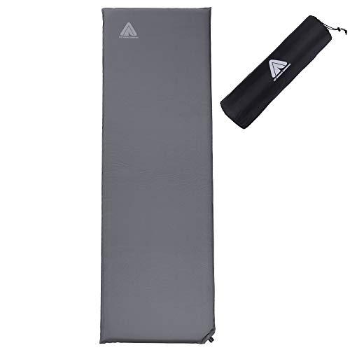 10T Tom 500 selbstaufblasbare Isomatte 193x63x5 cm wasserdichte Thermo-Matte Luftmatratze Luftbett -