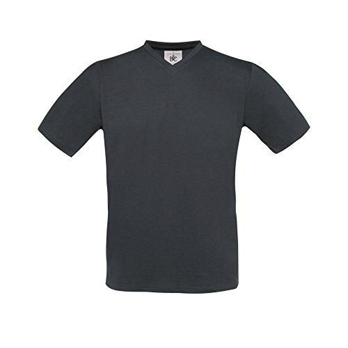 B&C Exact T-Shirt für Männer Dunkelgrau