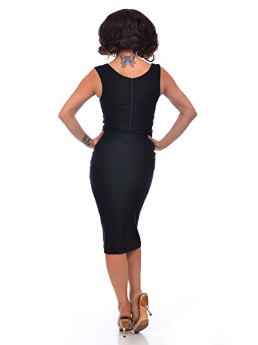 Rockabilly Bleistiftkleid 50er Jahre Kleid