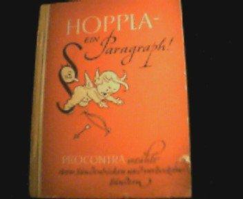 Hoppla - ein Paragraph! ( PROCONTRA erzählt von Sündenböcken und verbockten Sündern )