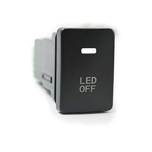 V Car 4 Wiring Blue LED Light Bar Switch on/Off ()