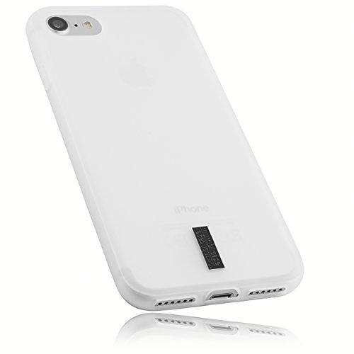 mumbi Schutzhülle für iPhone 8 / iPhone 7 Hülle transparent weiss Iphone Silicon Skin Cover