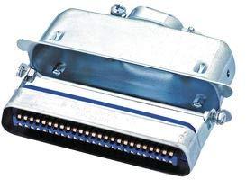 AMPHENOL ICC (COMMERCIAL PRODUCTS) Mini D Ribbon Conn, Plug, 50POS, Solder 57-30500 - Icc-mini