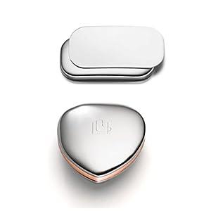 Lunavit Magnetschmuck, Powerpaket Magnetherz und Magnetstrip mit Edelstahl und Kupfer, Body Magnete für Rücken, Nacken und Gelenke, Geschenkidee