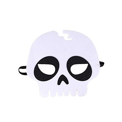 Wakerda 1PCS Halloween Augenmaske Creative Charming Masquerade Spitze -