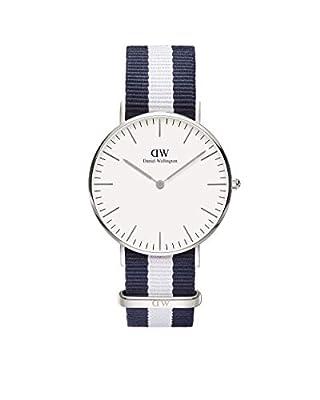 Reloj Daniel Wellington 0602DW de cuarzo para mujer con correa de nylon, color multicolor de Daniel Wellington