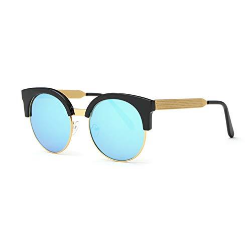 sijiaqi Unisex SonnenbrilleSonnenbrille-Frauen-neueste Katzenauge-runde Rahmen-Sonnenbrille,Style 5