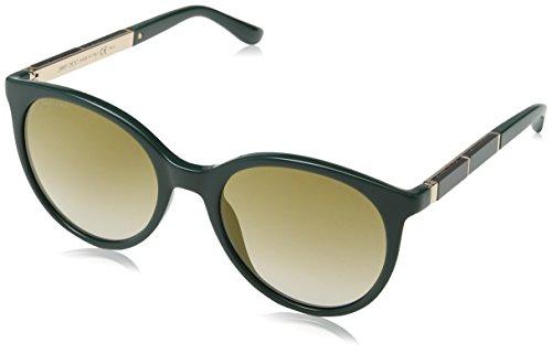Jimmy Choo Damen ERIE/S JL 1ED 54 Sonnenbrille, Grün (Green/Bw Black Brown),