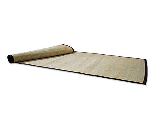 Tatam Rollmatte Uwajiki 90 x 200 cm japanische Matte Reisstroh Igusa-Gras