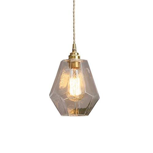 Linear-glas-anhänger (LMDH Vintage Küche lineare Insel Glas Kronleuchter Anhänger Leuchte)