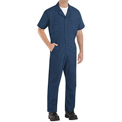 Red Kap Short Sleeve Speedsuit Navy XL - 2 Pack