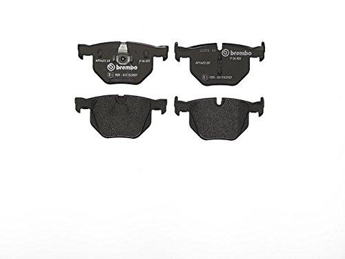 Preisvergleich Produktbild Brembo P 06 033 Bremsbelagsatz,  Scheibenbremse - (4-teilig)