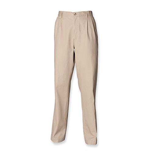 Henbury - Pantaloni - Uomo blu Small