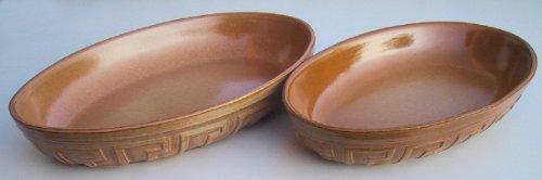 Auflaufform, Backform, Lasagneform, Keramikform 2 Stück=1 Preis