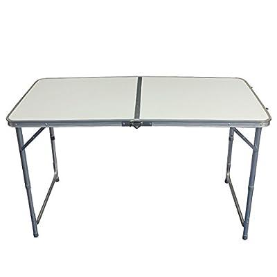(UK Warehouse) 4FT tragbare verstellbare Trestle Folding Camp Tabelle