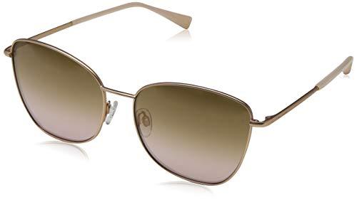 e52b4e57c5 Ted Baker Sunglasses Damen Sonnenbrille Ariel Brushed Rose Gold Brown
