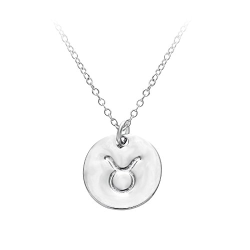 senfai-12-zodiac-sign-circle-tag-constellation-pendant-necklace-elegant-silver-color-horoscope-astro