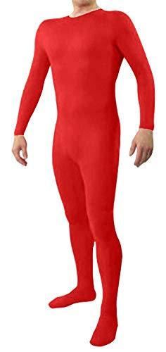Icegrey Zentai Lycra Spandex Kostüm Bodysuits Ganzkörperanzug rot ()