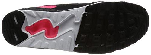 Nike Air Max 90 Ultra 2.0 (Gs), Scarpe da Corsa Bambina Multicolore (Black/Black/Racer Pink/White)