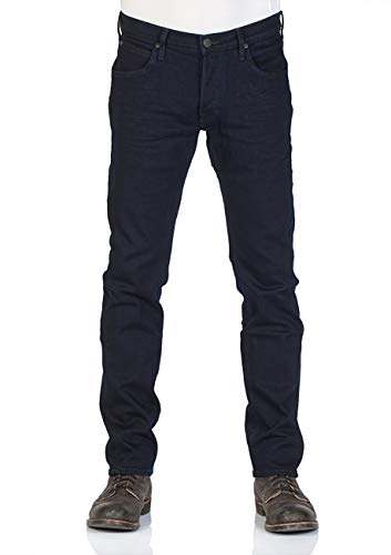 Lee Herren Jeans Daren - Regular Fit - Blau - The Abyss, Größe:W 32 L 34, Farbe:The Abyss (FKLA) - Bootcut Button-fly Jeans
