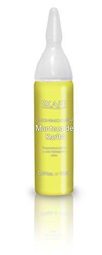 Caja 4 Ampollas de Tratamiento de Manteca de Karité