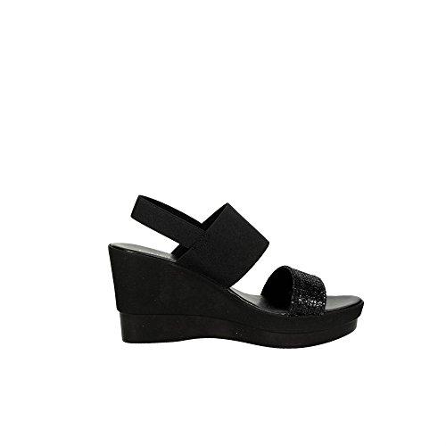 Cinzia Soft IBC17 001 Sandale Femme Noir