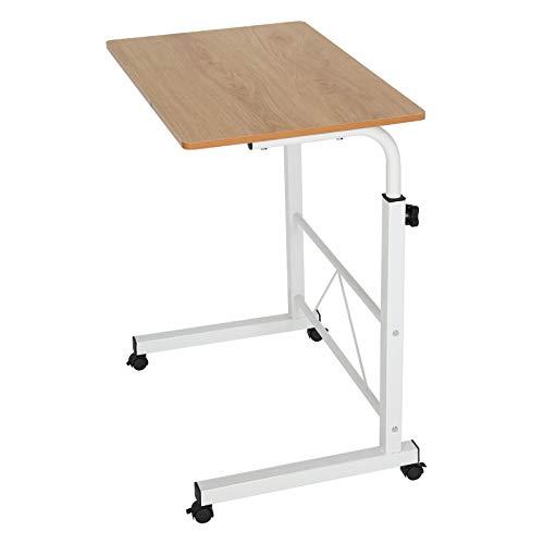 AllRight Laptoptisch Computertisch Sofa Bett Ständer Schreibtisch Pflegetisch Einstellbar (Gelb)