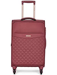 Caprese Alexandria 58 Cms Berry Softsided Cabin Luggage