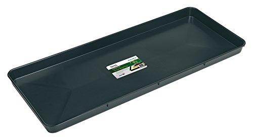 Stewart Nützliche Schale von für Pflanzbeutel, schwarz, 100x39x5 cm, 12-555-020