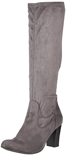 Caprice Damen 25503 Stiefel, Grau (Anthra.Stretch), 39 EU (Stiefel Damen Stretch)