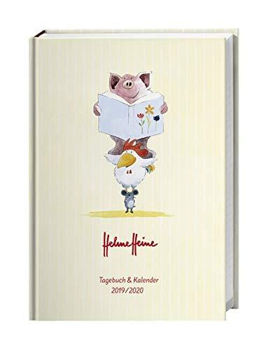Helme Heine 17-Monats-Kalenderbuch A5 2020 15,2x21,5cm