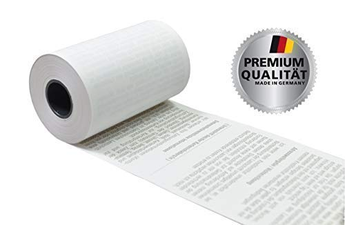 EC Thermorollen mit SEPA-Lastschrifttext 57mm x 14m x 12mm [ØRolle 35mm] Drucker schonend 55g/m²