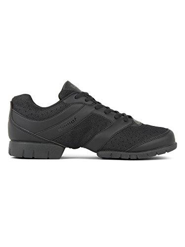 RUMPF Limbo Sneaker – schwarz Tanzschuhe Tanzsneaker Dancesneaker mit geteilter Sohle
