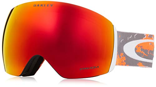 Oakley Flight Deck Snow Goggle Arctic Fracture Orange/Prizm Snow Torch Iridium 2018 Goggles