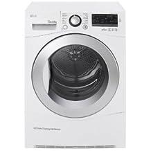 LG RC8055AP2F A++ Freestanding 8kg Front-load White tumble dryer - tumble dryers (A++, Freestanding, Front-load, Heat pump, White, A)