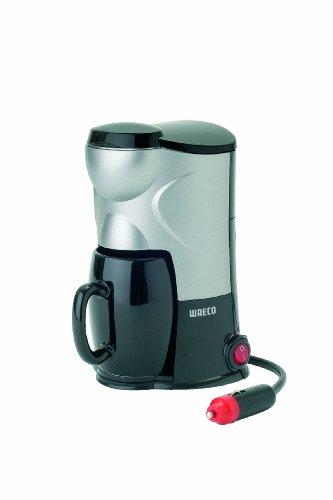 Dometic MC-01 Single Cup Coffee Maker, 24 V, Silver/Black